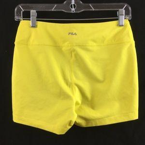 Fila Shorts - Fila yellow sports shorts Size Small (EUC)